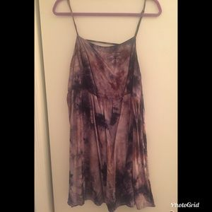 Tie dye Ecote dress from Urban Outfitters